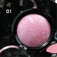 RoseFlower Pro 1 Colors Powder Blush  Blusher Makeup Palette Cosemetic Contouring Kit 1  Ideal for Professional and Daily Use -- More info could be found at the image url.