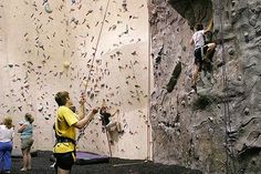Kendall Cliffs in Peninsula Ohio.  I SO want to go!  Can't wait to rock climb again!