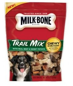Milk Bone Trail Mix Dog Snacks: FREE Sample (New Link) Sweet Potato Dog Treats, Sweet Potatoes For Dogs, Citric Acid Uses, Buy Milk, Free Samples By Mail, Dog Snacks, Natural Flavors, Yummy Treats, Dog Food Recipes