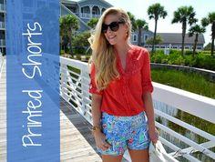 Ways to wear printed shorts