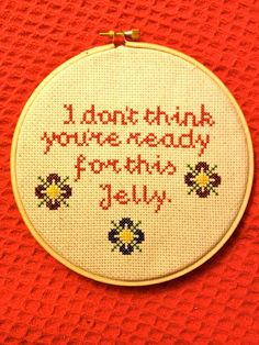 Epic Cross-Stitches and Needlepoints