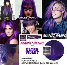 Manic Panic® Ultra Violet ™(Amplified)