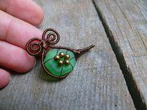 Draht gewickelt,Meer Glas Anhänger,Meerjungfrau   wire jewelry ...