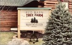 Red Barn Tree Farm offers Christmas Tradition   Holiday   gladwinmi.com #barnpros #barns #barn #prefabbarns #barnhomes #barnkits #barnswithapartments #barnbuilding #barnhouses #barnkit Prefab Barns, Barn Kits, Christmas Tree Farm, Christmas Traditions, Farms, Holiday, Red, Pole Barn House Kits, Homesteads