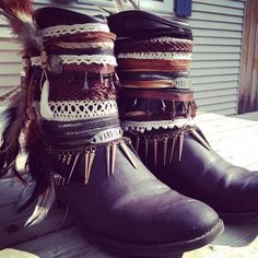 Hey, I found this really awesome Etsy listing at https://www.etsy.com/listing/234777387/gypsy-boho-boots