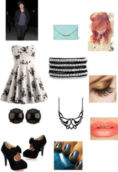 """""""date with Harry styles"""" by luvfashion98 ❤ liked on Polyvore"""