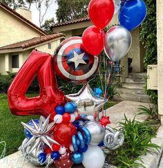 Spiderman Balloon, Superhero Balloons, Number Balloons, Balloon Arrangements, Balloon Centerpieces, Balloon Decorations Party, Balloon Columns, Balloon Arch, Balloon Garland