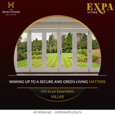 THE HEMISPHERE PRESENTS EXPA VILLAS Located just opposite to Alpha 2 #metro #station, EXPA #VILLAS are instilled with prime connectivity features.