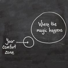 Don't be afraid to step beyond the boundaries of all that you consider safe in order to discover your true potential. #Creativity