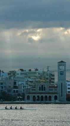 esplanade just after the rain                                                                    O Agios Konstantinos