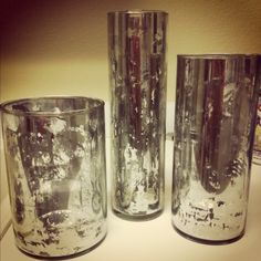 DIY Mercury glass vases, beautiful and so simple!