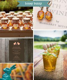 Honey wedding inspiration | Engaged & Inspired