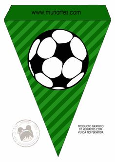 Imprimibles Futbol - www. Soccer Birthday Parties, Football Birthday, Birthday Party Themes, Boy Birthday, Baseball Party, Soccer Party, Sports Party, Kids Soccer, Party Printables