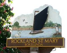 Rockland St Mary village sign Norfolk, Wales, England, Mary, Signs, Painting, Welsh Country, Shop Signs, Painting Art