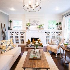 9 Wise Clever Tips: Living Room Remodel With Fireplace Joanna Gaines living room remodel ideas paint colours.Living Room Remodel With Fireplace Open Concept living room remodel with fireplace mantels.Small Living Room Remodel With Fireplace. Living Room Remodel, My Living Room, Home And Living, Living Room Furniture, Living Room Decor, Small Living, Living Walls, Living Spaces, Home Design