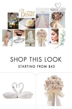 """bruidsmakeup"" by deveneey-nnman on Polyvore featuring mode, Lladró en Disney"