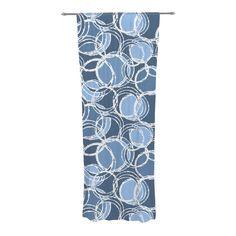 Kess InHouse Famenxt Mint Medallion Sheer Curtains 30 x 84