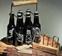 Beer bottle design and holder. #design #packaging