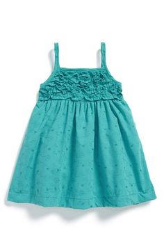 Penelope Mack Eyelet Embroidered Dress & Bloomers (Baby Girls)