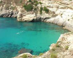 Porto Badisco nel Puglia