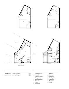 (1922) Maison et atelier Ozefant (Plan)- Le Corbusier (1280×1633)