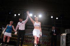 Ewa Brodnicka vs Pavla Votavova na Gali Tymex Boxing Night Pionki 8.02.2014