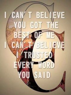 Best of Me -A Day to Remember