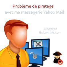 Que faire en cas de problème sérieux avec sa boite mail de Yahoo ? Exemple : piratage, perte de mot de passe, etc.