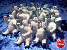 coca cola polar bears - Google Search