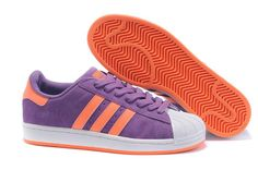 low priced 22f11 b17eb Buy Mens Womens Adidas Originals Superstar Casual Shoes Purple Orange from Reliable  Mens Womens Adidas Originals Superstar Casual Shoes Purple Orange ...