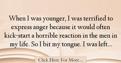 Alanis Morissette Quotes About Anger - 3082