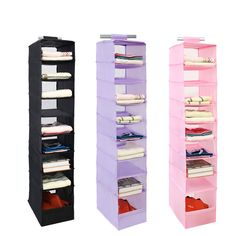 Cheap wall closet organizer, Buy Quality closet organizer directly from China hanging storage Suppliers: 9 Cell Multifunction Hanging Storage Box For Sorting Underwear Clothing Shoes Bag Jean Door Wall Closet Organizer With Hook Kit