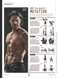 Joe Manganiello Shares Workout Tips for Mens Health UK September 2014 Cover Story image Joe Manganiello Workout 002 800x1062