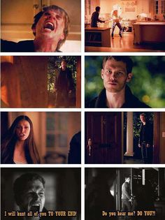 His face when he saw kol :(