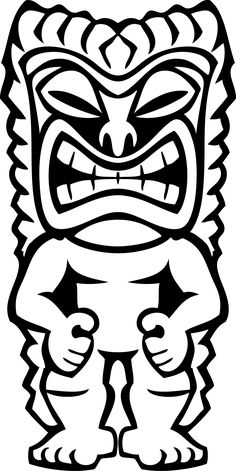 Tiki Mask Template - Bing Images