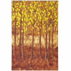 $39.95 Pier 1 Birch Trees Wall Art - Amber