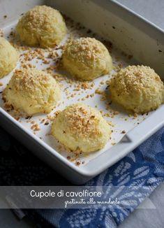 Cupole di cavolfiore gratinate alle mandorle gluten free e light