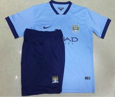 Manchester City Home Football Shirts 2014/15 - The Spy Photos Version 2