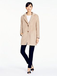 KSNY Daphne coat $798 Check out the back!