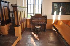 Inside the church at the Highland Village Museum near Sydney, Canada. Holland America Eurodam Ship.