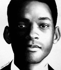 Will Smith pencil drawing
