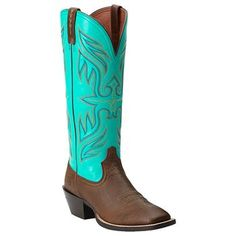 Ariat Women's Round Up Buckaroo Square Toe Boots