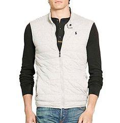 Polo Ralph Lauren® Men's Quilted Jersey Vest