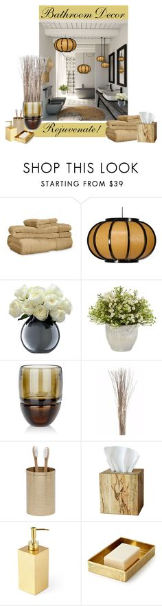 """""""Rejuvenate !"""" by mountainalive ❤ liked on Polyvore featuring interior, interiors, interior design, home, home decor, interior decorating, LSA International, Nearly Natural, Arcade and Pigeon & Poodle"""