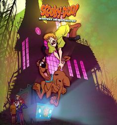 She really loves Scooby Doo.  I mean really.  http://www.watchcartoononline.com/thumbs/Scooby-Doo-Mystery-Incorporated-Episode-3.jpg
