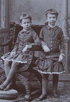 Sissi's grandchildrenPrincess Auguste and her sister Princess Elisabeth of Bavaria