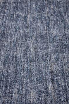 Denim 141.132 vloerkleed 200x300 blind banderen rafel | Desso