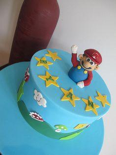 super mario cake - Google Search