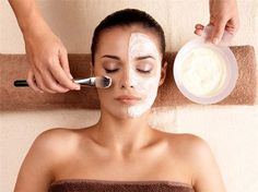 Ever wonder whether a facial could help with improve your skin? Certain skin issues do benefit from a facial service. Click this pin to find out if one might help you! Homemade Face Masks, Diy Face Mask, Banana Face Mask, How To Get Rid Of Pimples, Facial Treatment, Skin Treatments, Beauty Hacks Video, Tips Belleza, Hair