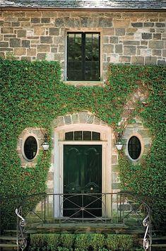Ivy clad entrance